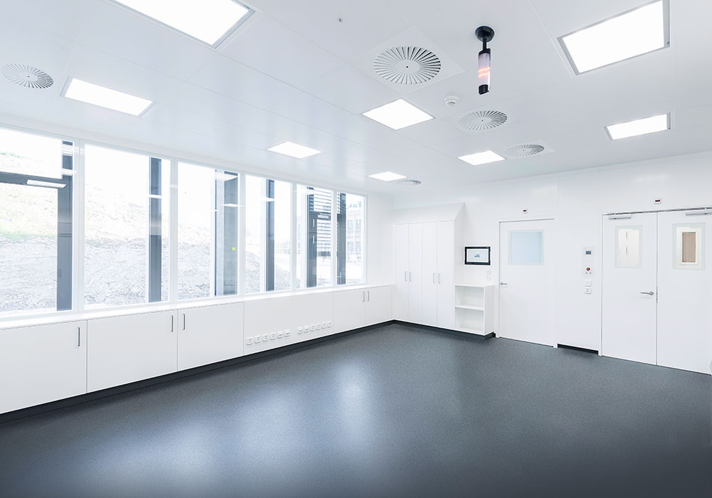 مراحل طراحی و ساخت اتاق تمیز (کلین روم)